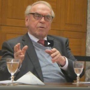 Jürgen Moltmann au Conseil œcuménique des Églises